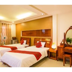 Отель Hoang Thu Homestay 2* Улучшенный номер с 2 отдельными кроватями