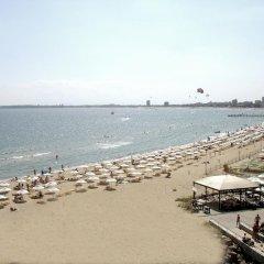 Отель Carina Beach Aparthotel - Free Private Beach Солнечный берег пляж