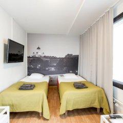 Отель Forenom Aparthotel Helsinki Herttoniemi Стандартный номер с различными типами кроватей фото 9