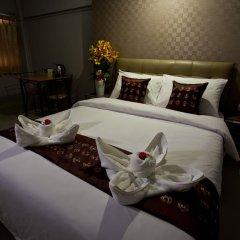 Отель NRC Residence Suvarnabhumi 3* Улучшенный номер с различными типами кроватей фото 4