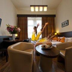 Отель Spatz Aparthotel 3* Стандартный номер с двуспальной кроватью фото 3