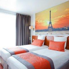 Отель Hôtel Alyss Saphir Cambronne Eiffel 3* Стандартный номер с 2 отдельными кроватями фото 4