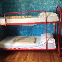 Отель HostelRoma Кровать в общем номере с двухъярусной кроватью фото 8