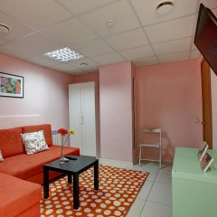 Мини-отель Брусника у метро Красносельская Номер с общей ванной комнатой с различными типами кроватей (общая ванная комната) фото 14