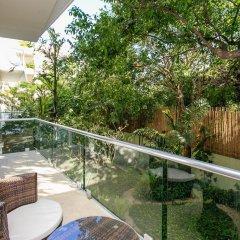 Отель Papaya 15 Apartments Мексика, Плая-дель-Кармен - отзывы, цены и фото номеров - забронировать отель Papaya 15 Apartments онлайн балкон
