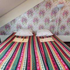 Хостел Крыша Стандартный номер двуспальная кровать фото 13