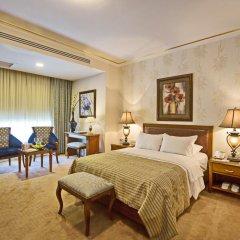 Отель Amman International 4* Представительский люкс с различными типами кроватей фото 2