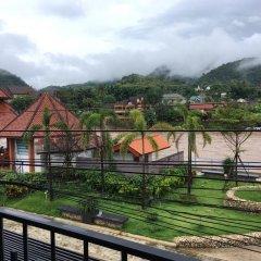 Отель Saranya River House балкон