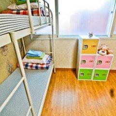 Отель Kimchee Hongdae Guesthouse Кровать в женском общем номере с двухъярусной кроватью фото 10