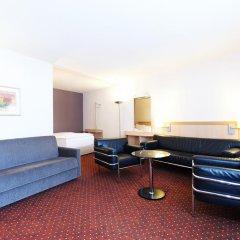 Отель NH Leipzig Messe 4* Стандартный номер с различными типами кроватей фото 3
