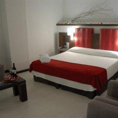 Отель Ciutat De Girona 4* Улучшенный номер с различными типами кроватей фото 4