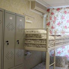Хостел Ника-Сити Кровати в общем номере с двухъярусными кроватями фото 38