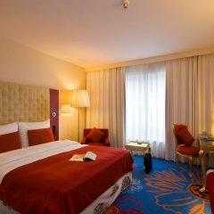 Отель Radisson RED Brussels 4* Стандартный номер с различными типами кроватей фото 13
