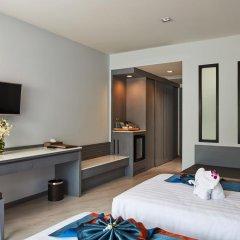 Отель Ananta Burin Resort 4* Улучшенный номер с различными типами кроватей фото 3