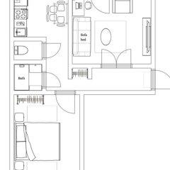 Гостиница Minsklux Apartment 2 Беларусь, Минск - отзывы, цены и фото номеров - забронировать гостиницу Minsklux Apartment 2 онлайн ванная