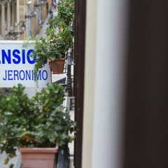 Отель Pension San Jeronimo парковка