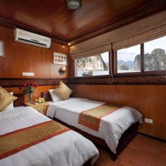 Отель Halong Golden Bay Cruise комната для гостей фото 2