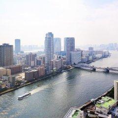 Отель Ginza Creston Токио балкон