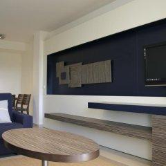 Отель Apartaments Terraza - Salatà Mar Испания, Курорт Росес - отзывы, цены и фото номеров - забронировать отель Apartaments Terraza - Salatà Mar онлайн комната для гостей фото 3