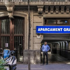 Апартаменты Habitat Apartments Boulevard Барселона банкомат