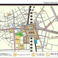 Отель House Ikebukuro Токио городской автобус