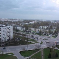 Апартаменты PaulMarie Apartments on Pravdy балкон