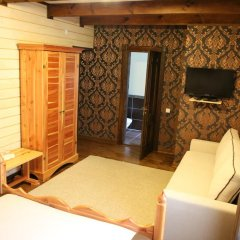 Гостиница Лесная Усадьба Стандартный номер двуспальная кровать фото 10