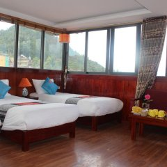 Fansipan View Hotel 3* Люкс с различными типами кроватей фото 10