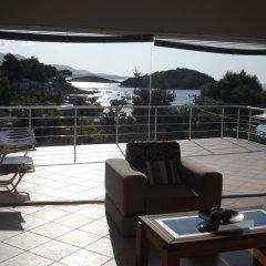 Отель Beach House Албания, Ксамил - отзывы, цены и фото номеров - забронировать отель Beach House онлайн балкон