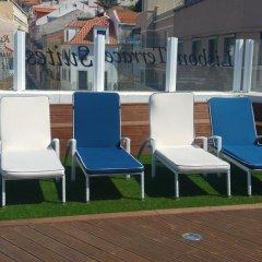 Отель Guest House Lisbon Terrace Suites II бассейн