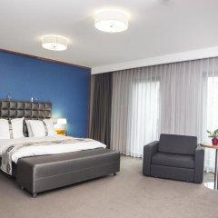 Отель Holiday Inn Krakow City Centre 5* Представительский номер с различными типами кроватей фото 5
