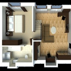 Апартаменты Senator City Center Стандартный номер с разными типами кроватей фото 17