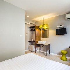 Отель @Hua Lamphong 2* Стандартный номер с двуспальной кроватью фото 2