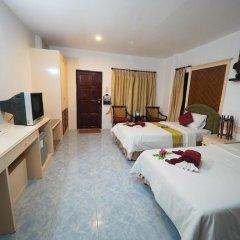 Отель Lanta Palace Resort And Beach Club 3* Бунгало с различными типами кроватей фото 3