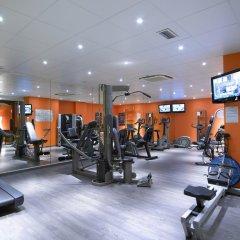 Отель Thon Bristol Stephanie Брюссель фитнесс-зал