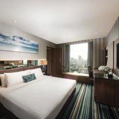 Отель The Continent Bangkok by Compass Hospitality 4* Стандартный номер с различными типами кроватей фото 32