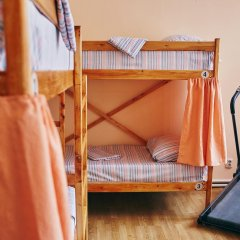Хостел Миг Кровать в общем номере с двухъярусной кроватью фото 7