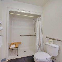 Отель Motel 6 Meridian Mississippi ванная
