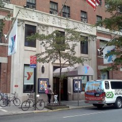 Отель Vanderbilt YMCA городской автобус