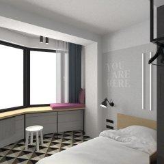 AZIMUT Отель Смоленская Москва 4* Номер SMART Single с различными типами кроватей