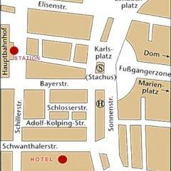 Hotel Deutsches Theater Stadtmitte (Downtown) 3* Стандартный номер с различными типами кроватей фото 37