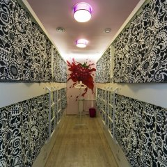 Гостиница HQ Hostelberry Кровать в женском общем номере двухъярусные кровати фото 12