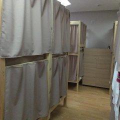 Хостел Плед на Павелецкой Кровать в общем номере с двухъярусной кроватью фото 17