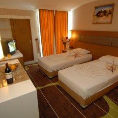 Oba Star Hotel & Spa - All Inclusive 3* Стандартный семейный номер с двуспальной кроватью фото 3