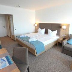 Отель Carat Golf & Sporthotel 4* Номер Делюкс с двуспальной кроватью фото 4
