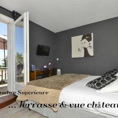 Отель Les Terrasses De Saumur 3* Улучшенный номер фото 7