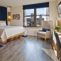 Arthouse Hotel New York City 4* Номер Делюкс с различными типами кроватей