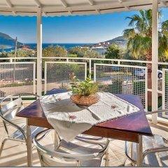 Villa Merve Турция, Калкан - отзывы, цены и фото номеров - забронировать отель Villa Merve онлайн балкон