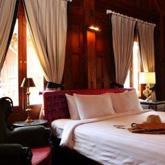 Отель Burasari Heritage Luang Prabang 4* Номер Делюкс с двуспальной кроватью фото 7