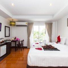 Отель Silver Resortel Номер Делюкс с двуспальной кроватью